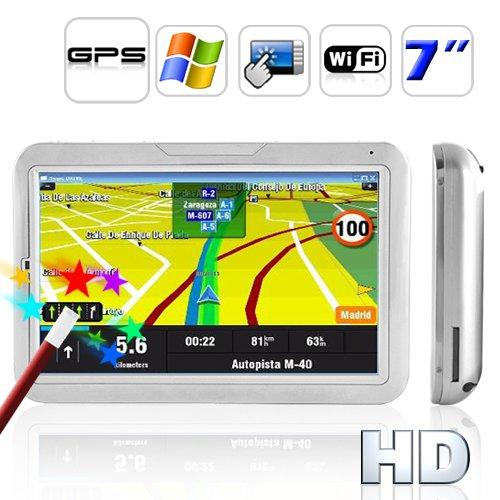 7 Inch Touch Screen GPS Navigator (WIFI + Direct WIN CE Access)