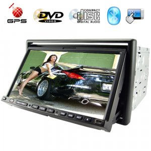 Stargate 7 Inch Touch Screen Car Media System and GPS Navigator