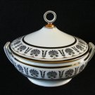 Richard Ginori Tureen Ercolano Black / Nero