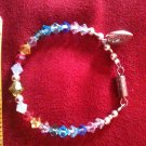 Rainbow Children's Swarovski Crystal Bracelet