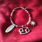 Cancer Swarovski Crystal Bracelet