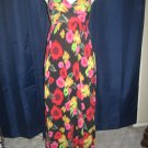 Floral Print Derek Heart Maxi Dress size S