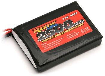 Associated Transmitter Battery - M11X 2500mAh 7.4V LiPo