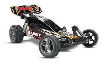 Traxxas Bandit 2.4 VXL RTR Brushless Buggy w/7 Cell & Charger