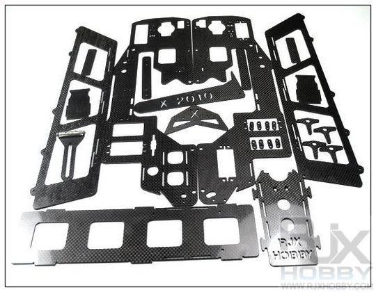 X50 nitro to elec. conversion kit CF