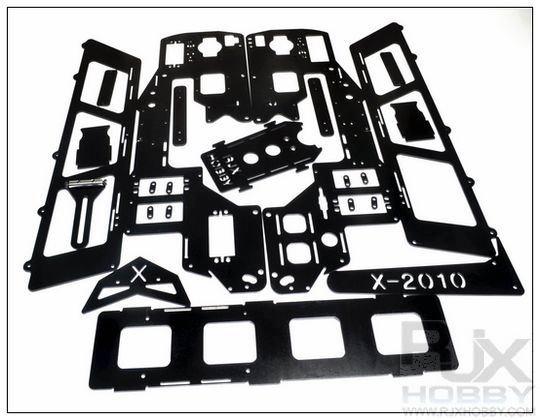 X90 nitro to elec. conversion kit FRP
