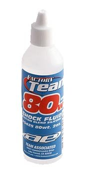 Associated Silicone Shock Oil 80wt In Stock