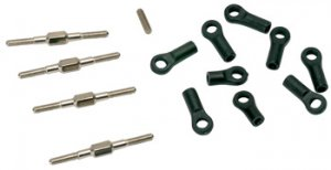XTM Parts Turnbuckles & Ball Ends, Steering/Toe-In - Rage In Stock