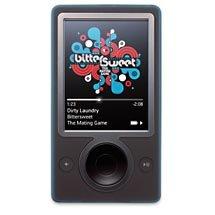 Zune 30GB MP3 Video Player-Black