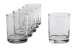 Essential Home Double Old Fashioned Glasses 6 Piece Set