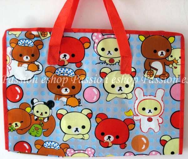 Kuromi Environmental Friendly Bag (Red)