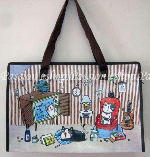 Cat Environmental Friendly Bag (Brown)