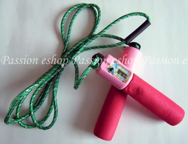 Skipping rope with counter