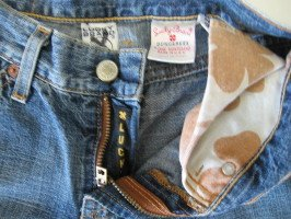 Lucky Brand Jeans Denims Sz 0/25 BKE 23