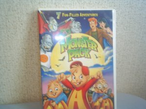 MONSTER PACK dvd 3 halloween movies plus 4 spooky Archie episodes!