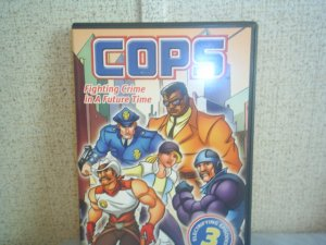 COPS Fighting Crime in a Future Time  dvd tv series