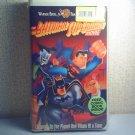 BATMAN/SUPERMAN MOVIE vhs  CLAMSHELL NEW W/COMIC