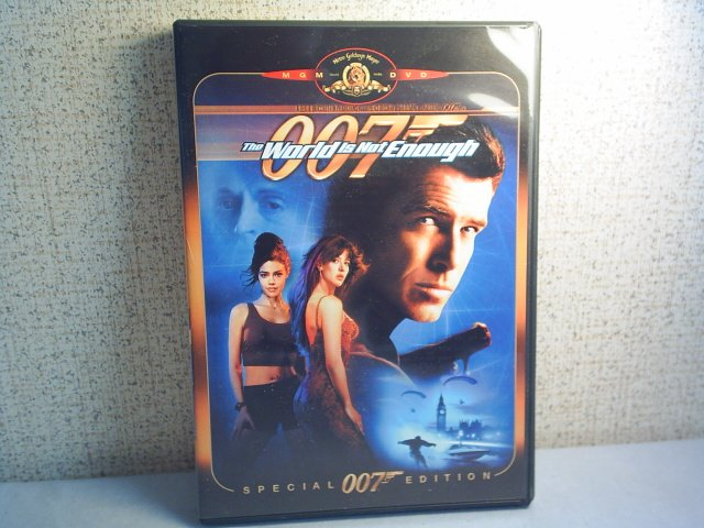 007 The World is Not Enough - Special Edition dvd movie The World Is Not Enough Dvd