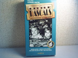 THE LITTLE RASCALS - REMASTERED & UNEDITED - Boxing Gloves -  vhs movie