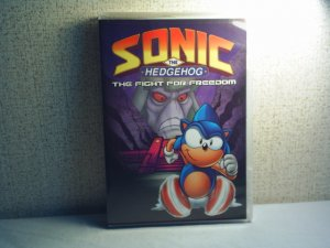 SONIC THE HEDGEHOG  - THE FIGHT FOR FREEDOM DVD tv series