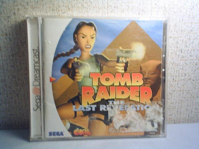 TOMB RAIDER: THE LAST REVELATION - SEGA DREAMCAST VIDEO GAME