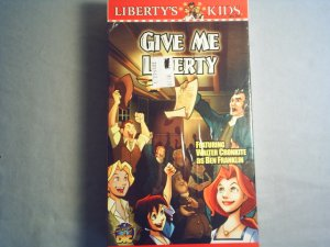 LIBERTY'S KIDS - GIVE ME LIBERTY - NEW VHS MOVIE