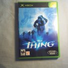 THE THING - XBOX VIDEO GAME