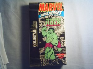INCREDIBLE HULK VOLUME ONE - VHS - animated tv series