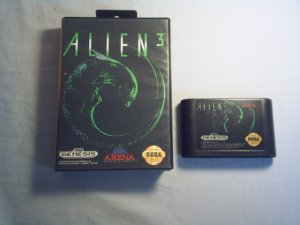 ALIEN 3 SEGA GENESIS VIDEO GAME