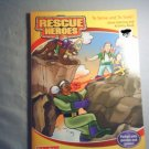 RESCUE HEROES : TO SERVE AND TO SAVE - COLORING AND ACTIVITY BOOK - NEW
