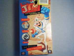 EARTHWORM JIM - Bring Me The Head of Earthworm Jim - VHS new
