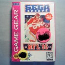 SEGA SPORTS NFL 95  SEGA GAME GEAR VIDEO GAME