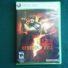 RESIDENT EVIL 5 XBOX 360 video game