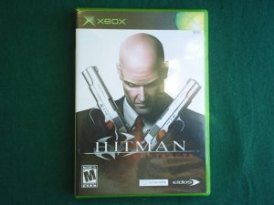 HITMAN - CONTRACTS XBOX video game