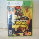 RED DEAD REDEMPTION UNDEAD NIGHTMARE xbox 360 video game