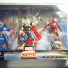 MARVEL MINIATURE ALLIANCE 3 pack - Thor, Captain America, Iron Man NEW