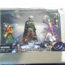 DC 3 PACK  DELUXE FIGURES - Robin, Joker, Batman NEW