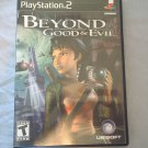 BEYOND GOOD AND EVIL - PS2 VIDEO GAME