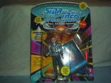 STAR TREK THE NEXT GENERATION - Commander Sela -  Action Figure - New