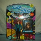 STAR TREK THE NEXT GENERATION - Dr. Beverly Crusher-  Action Figure - New