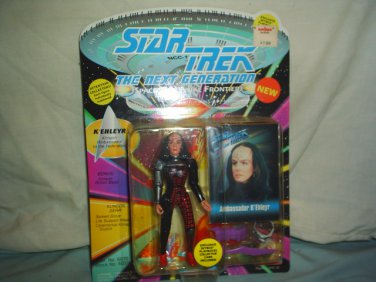 STAR TREK THE NEXT GENERATION - K'EHLEYER-  Action Figure - New