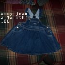 Tommy Jean overall skirt