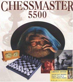 (Free Shipping) Chessmaster 5500 PC Game