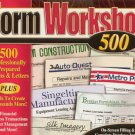 (Free Shipping) Form Workshop 500 PC CD-Rom