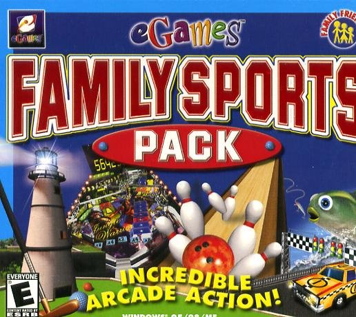 Family Sports Pack PC-CD New! (Free Shipping)