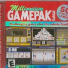 (Free Shipping) MILLENNIUM GamePak Platinum! PC-CD Over 50 Complete Games
