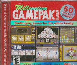 (Free Shipping) MILLENNIUM GamePak Platinum! PC-CD Over 50 Complete Games