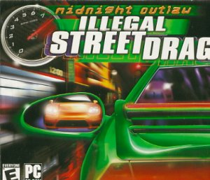 Midnight Outlaw Illegal Street Drag PC-CD New! (Free Shipping)
