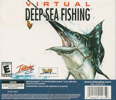 Virtual Deep Sea Fishing PC Game (Free Shipping)