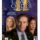 Law and Order Double or Nothing PC game NEW! Free Shipping
